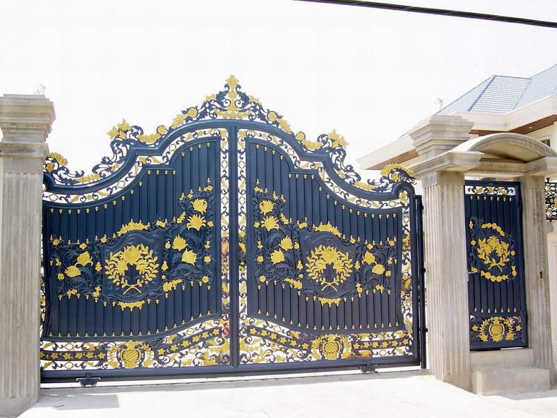 Amazing Iron Gates Design Gallery. KERALA HOME ...
