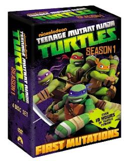 Win TMNT Complete season one on DVD