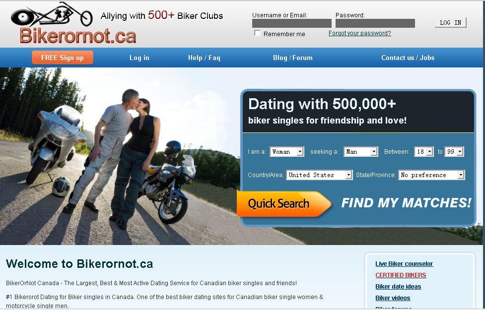 Bike dating website