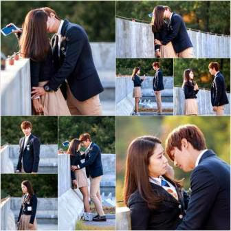 Adegan Ciuman Lee Min Hoo dan Park Shin Hye di Film Drama Korea 'The Heirs'