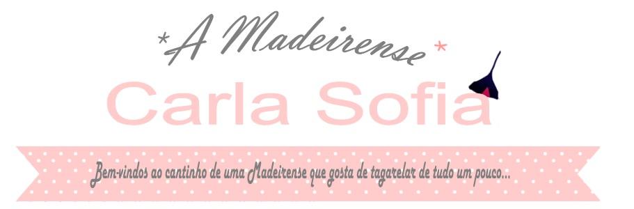 A Madeirense Carla Sofia
