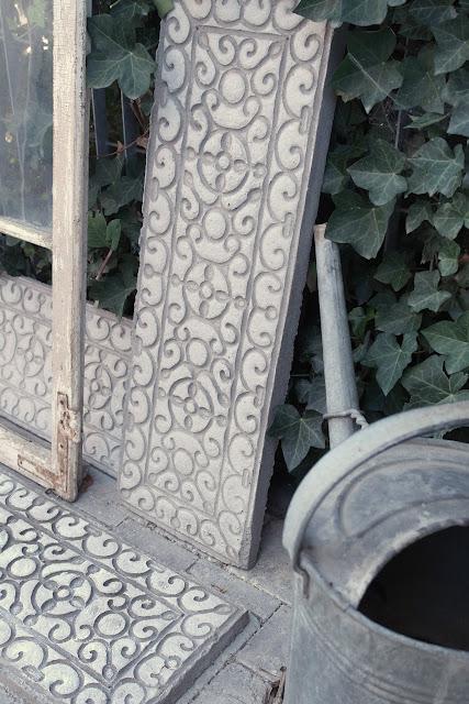 Shabby Chic DIY Ornamente aus Beton