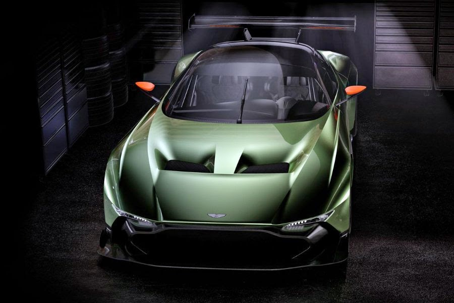 Aston Martin Vulcan (2016 Rendering) Front Side