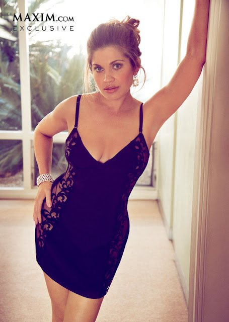 topanga - danielle fishel from boy meets world poses nearly naked in Maxim