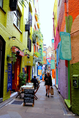 Londres - Neal's Yard