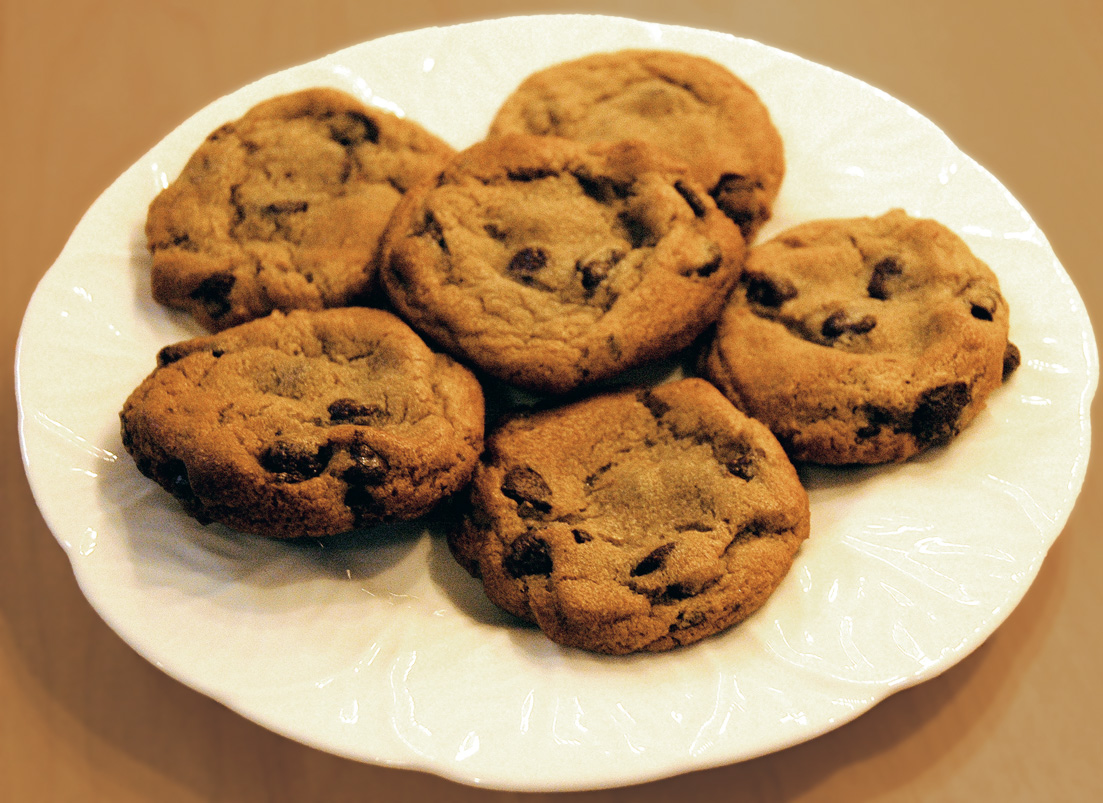 Chocolates: chocolate chip cookies