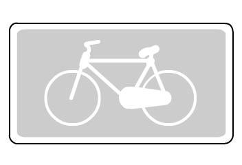 Señal S-33 carril bici salamanca