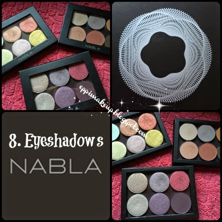Nabla Eyeshadows