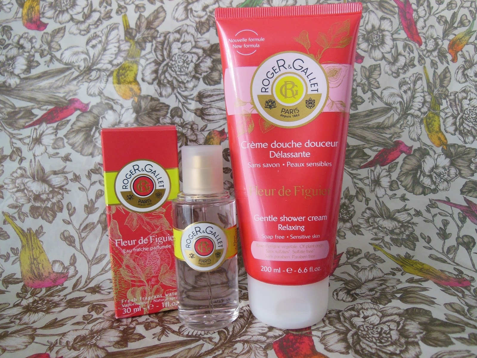 Roger and Gallet fleur de figuier collection