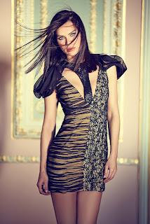 Ebru Şallı Elbiseleri