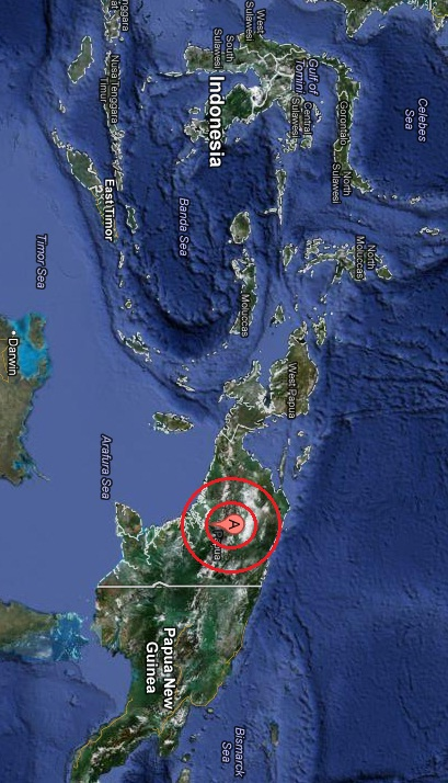 papua, indonesia earthquake 2013 February 28