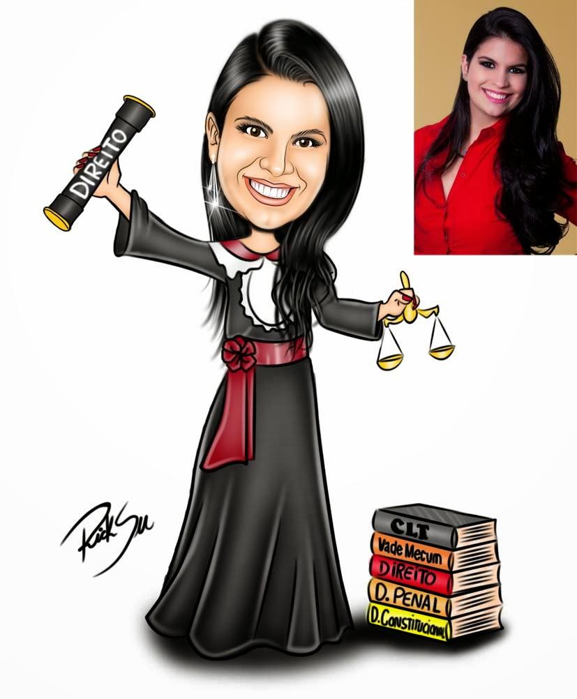 formandos de direito com ricksu caricaturas