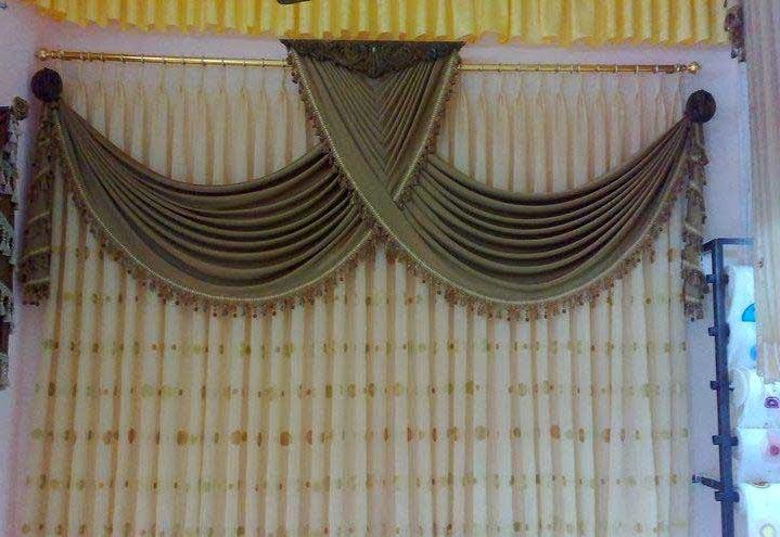 Salon marocaine moderne rideaux occultants style marocain for Style de rideaux pour salon