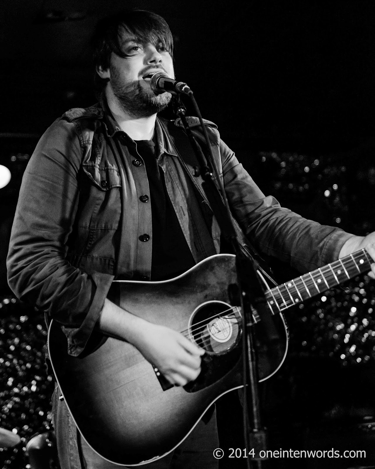 Andew Austin at The Horseshoe Tavern November 1, 2014 Photo by John at One In Ten Words oneintenwords.com toronto indie alternative music blog concert photography pictures