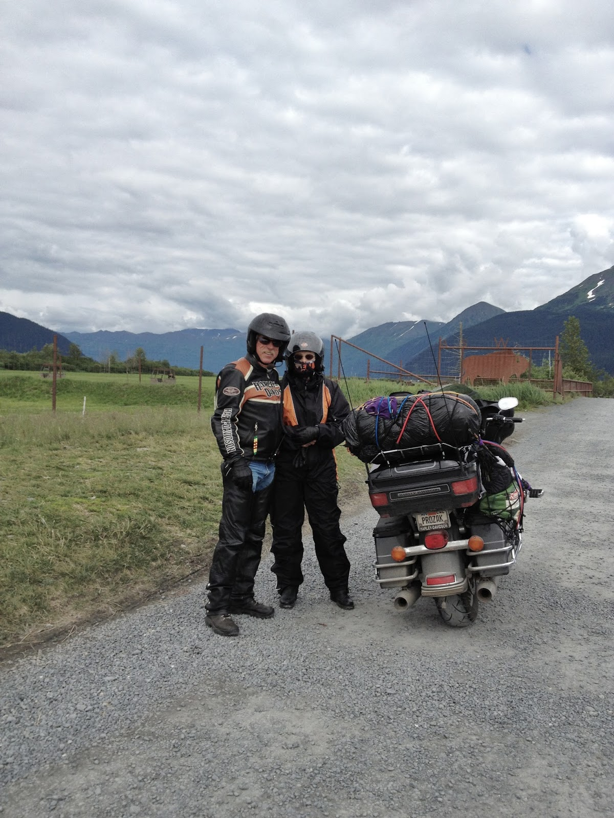 Road Warriers, #Alaska #SewardHighway 2013