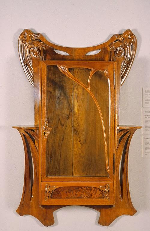 Louis Majorelle - Wall Cabinet, Walters Art Museum