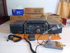KENWOOD TS850S AT s/n 5 SETLINE FULL DUSBOOK (Ts850S+DSP100+SO2+SP31+ PS31+MC60+DRU 2+RM1+)