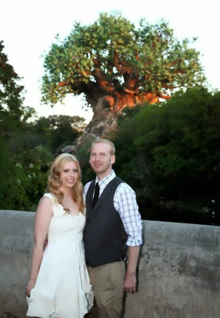 Disney Wedding Inspiration: Wendy and Greg's Walt Disney World Rehearsal Dinner in Animal Kingdom. Photography by Disney Event Photography
