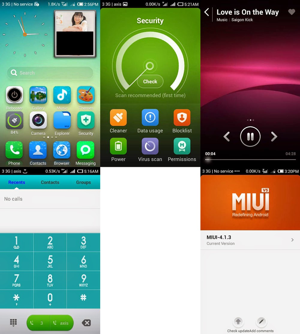 Custom ROM MIUI V5 for Smartfren Andromax C Terbaru | Plus OTA Update!