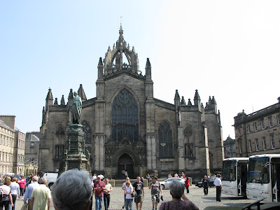 st giles' cathedral edinburgh scotland