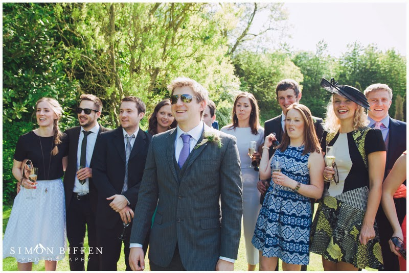 Newton House wedding guest shot