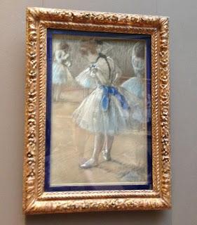 Degas ballet portrait