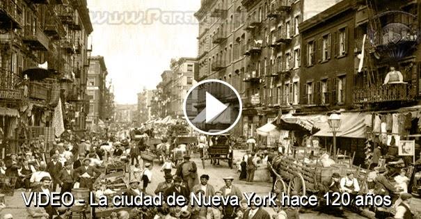 VIDEO - La ciudad de Nueva York en el 1998 imagines ineditas
