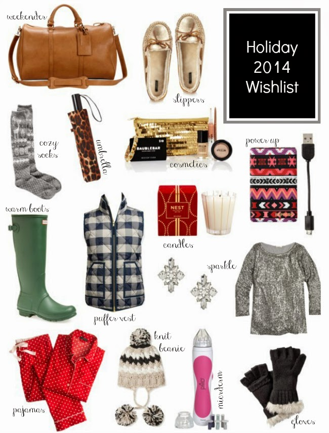 holiday wish list for her
