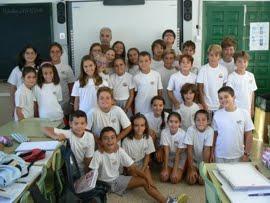Los alumnos de la clase de 5º A