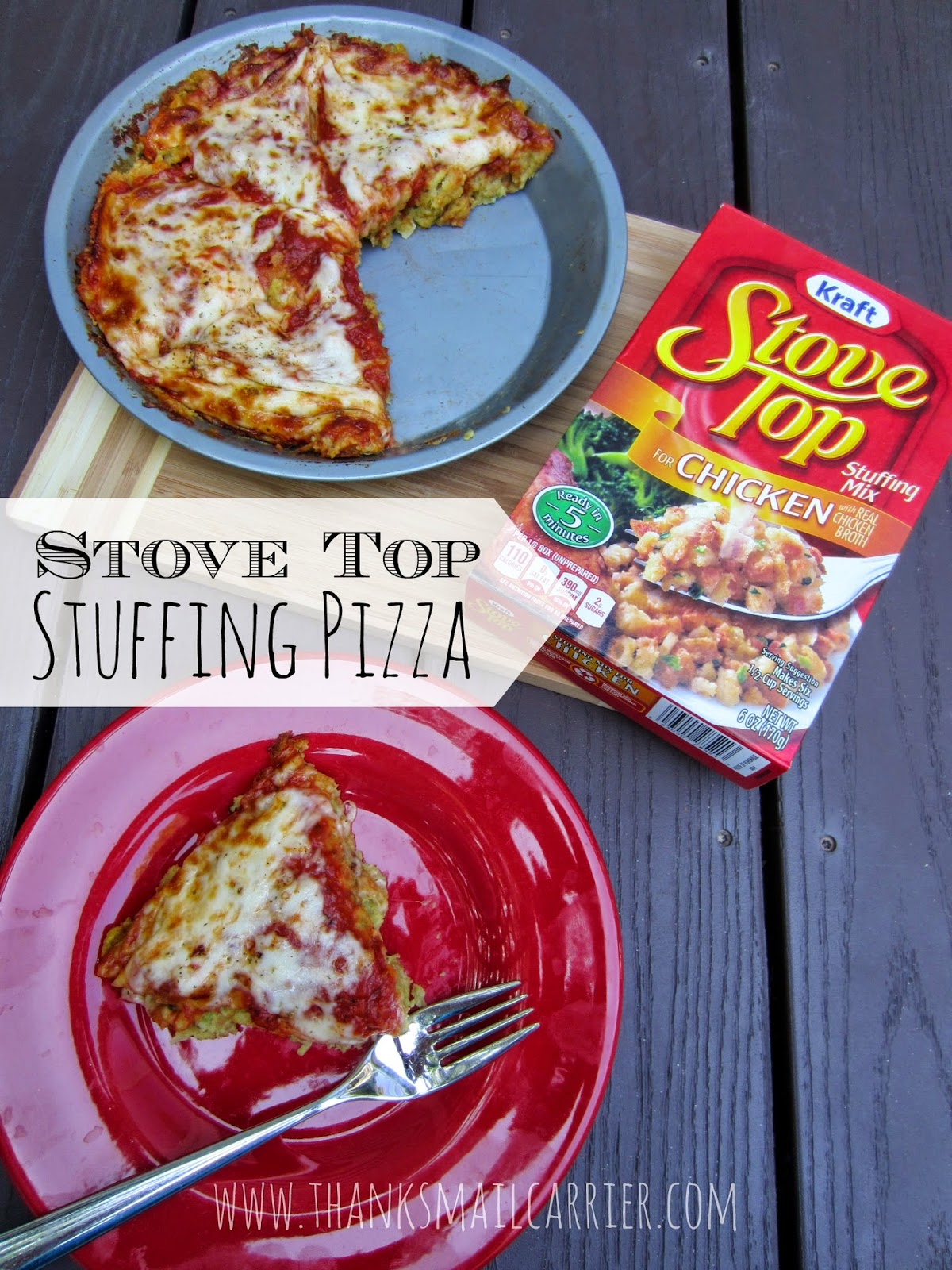 Stove Top Stuffing Pizza