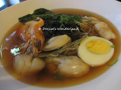 Seafood Ramen @ Momiji Sushi