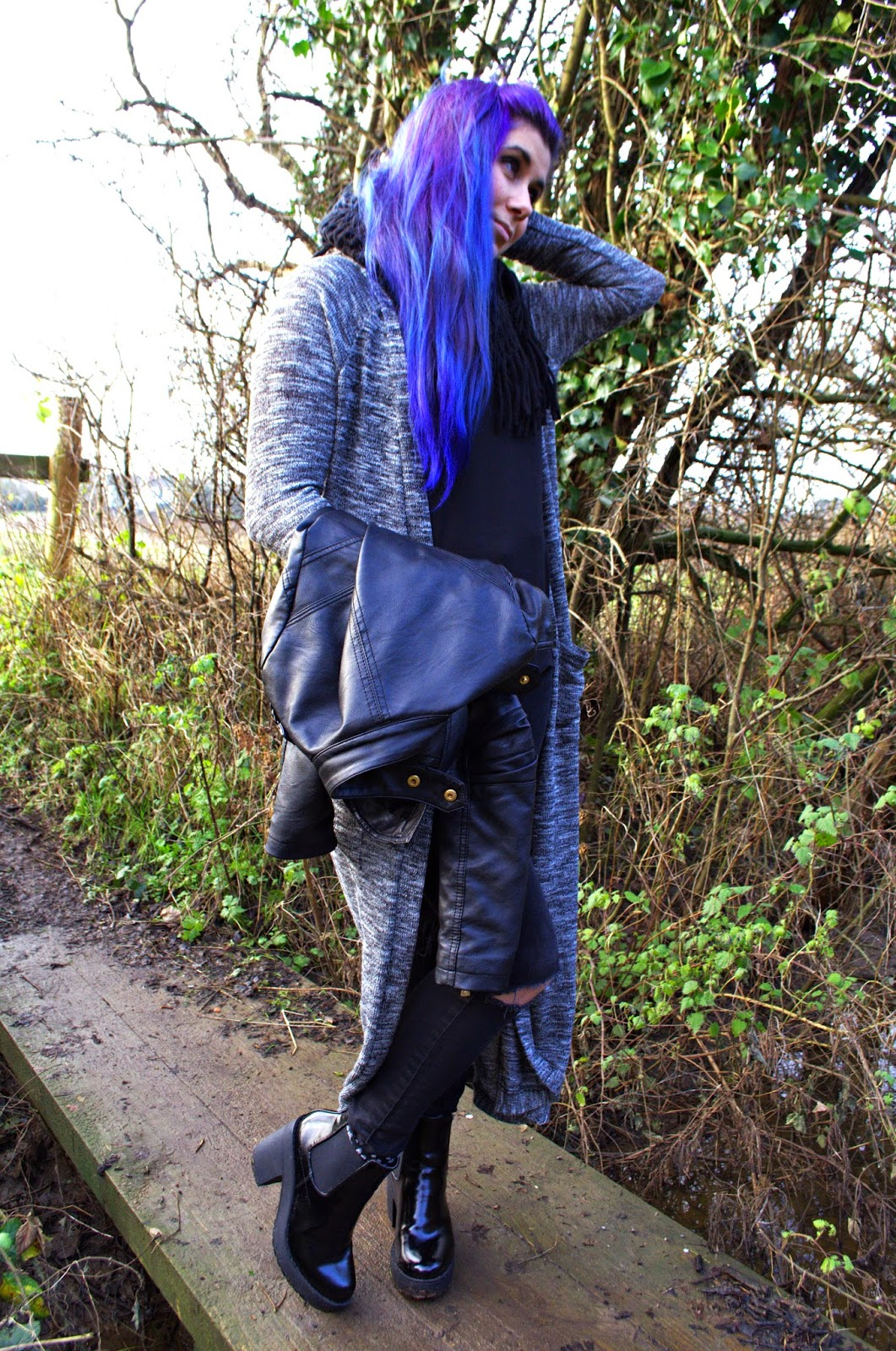 Grunge OOTD featuring Primark, Public Desire, Asos, River Island and Rebel Ocean Jewellery