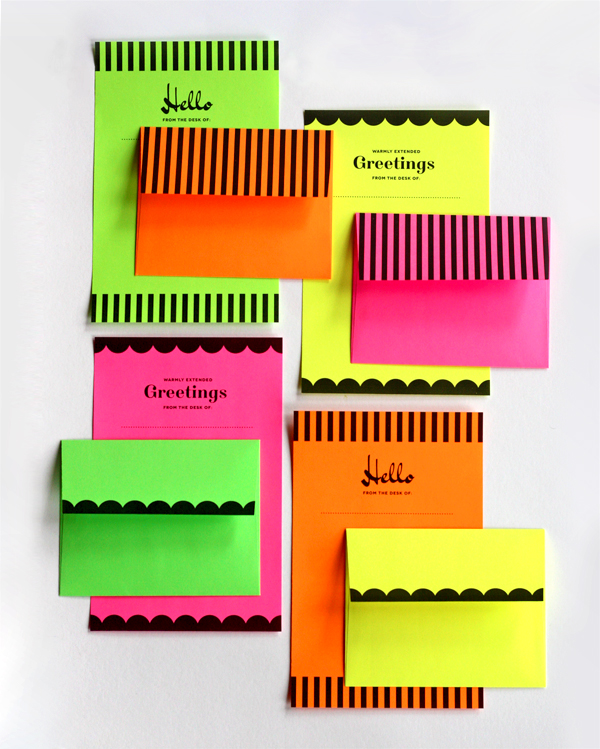 diy printable neon stationery set how about orange