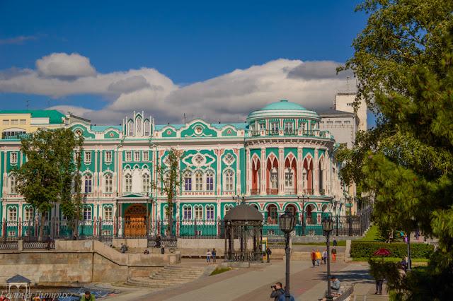 Путешествия: О жизни: Дом Севастьянова Екатеринбург фото