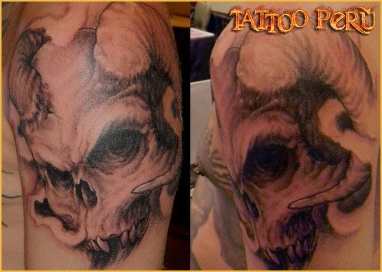 Tipos de Aros para Piercing o Perforaciones. 01_tatuajes_de_calaveras