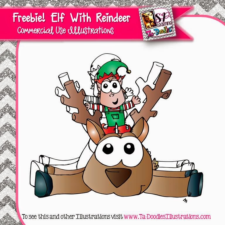 http://www.teacherspayteachers.com/Product/Reindeer-and-Elf-FREEBIE-1609005