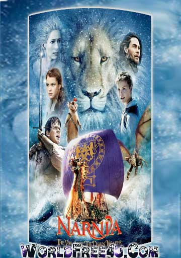 Poster Of Narnia 3 (2010) In Hindi English Dual Audio 300MB Compressed Small Size Pc Movie Free Download Only At World4ufree.Org