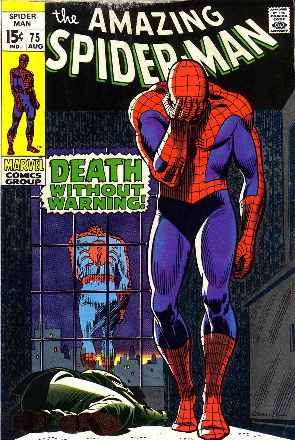 Una vida de historietas portadas de spiderman por john romita - Marvel spiderman comics pdf ...
