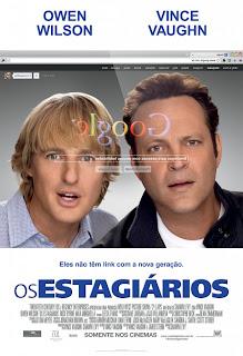 """Poster do filme """"Os Estagiários"""""""