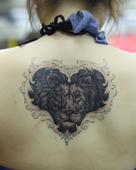 Lion Tattoos For Women