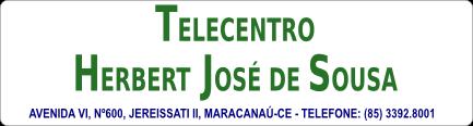 Telecentro Herbert José de Souza