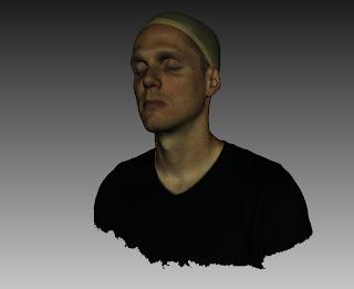 Con el escáner 3D EVA captamos la cara a gran resolución