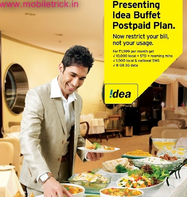 "IDEA Launches ""Buffet Plan"" Starting At Rs.899"