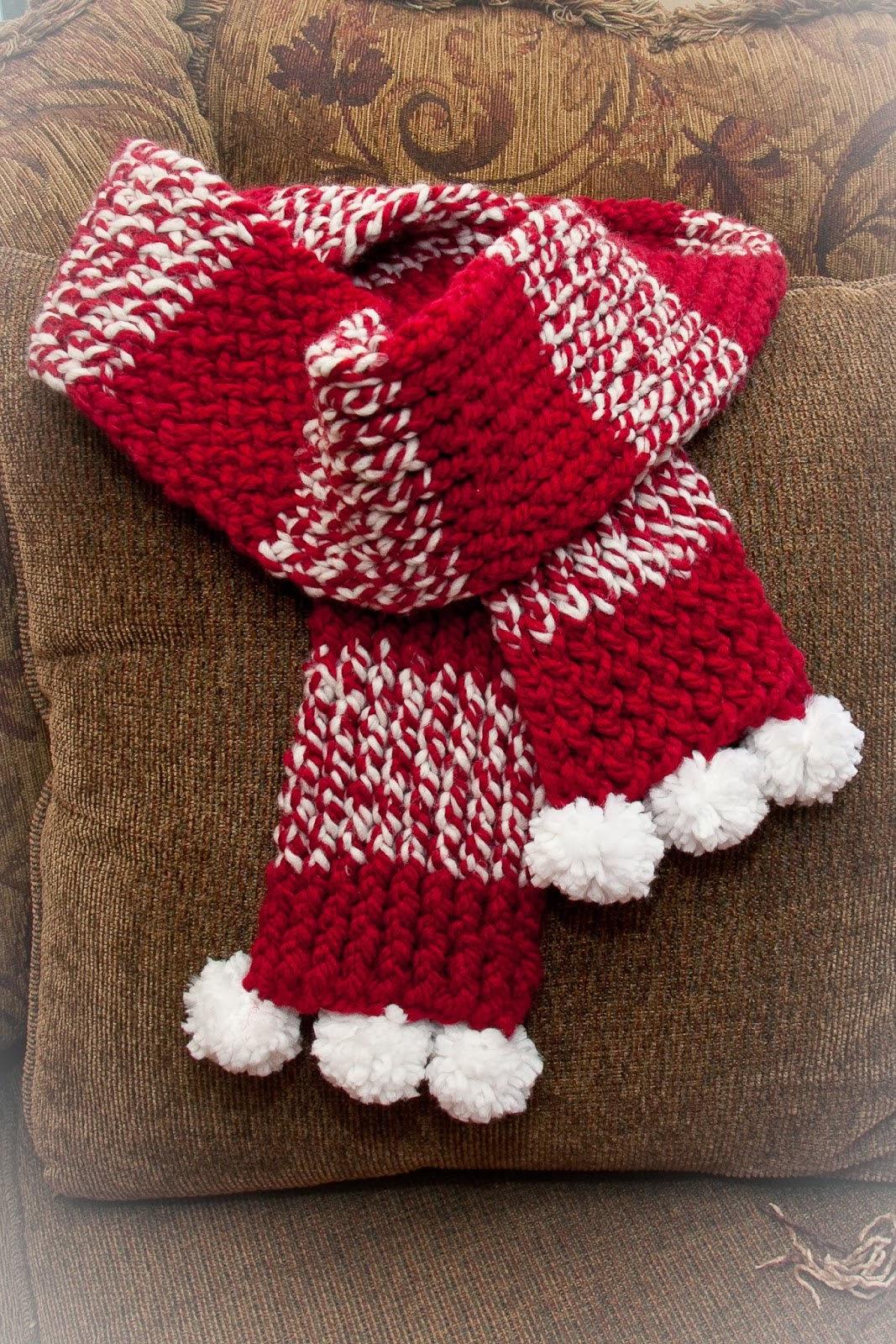 Easy Knitting Loom Scarf Patterns : Loom Knitting by This Moment is Good!: October 2013