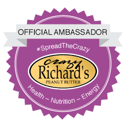 "10% off Crazy Richard's with code ""CASEY"""