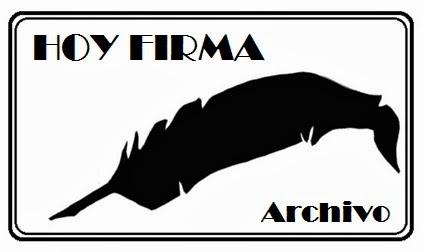 HOY FIRMA. ARCHIVO.