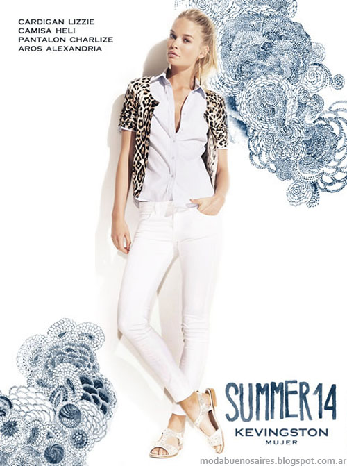 Kevingston Mujer 2014. Moda 2014. MOda verano 2014 marcas argentinas.