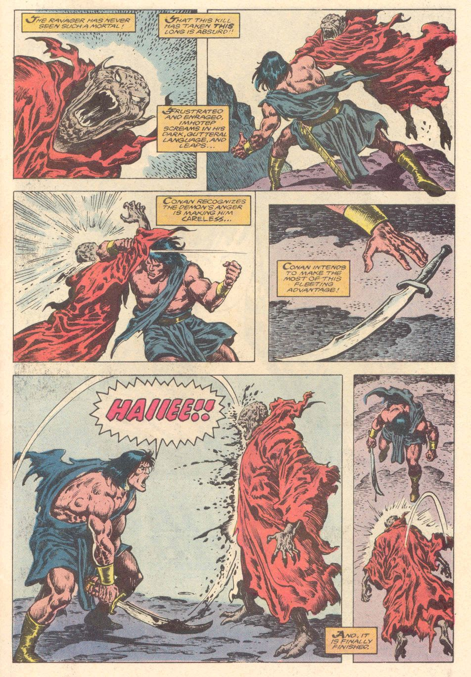 Conan the Barbarian (1970) Issue #183 #195 - English 20