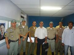 o sgt. ricardo da assp-pe na luta contra a despromoção de 11 sargentos da PMPE
