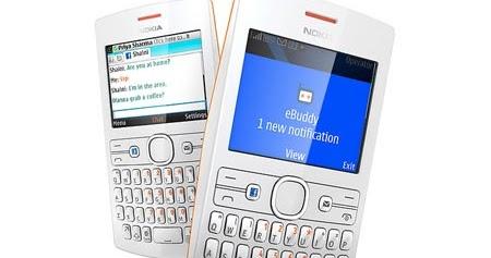 Harga Nokia Asha 205 HP Qwerty Dual Sim Murah